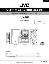 Buy JVC UX-L40 sch Service Manual by download #156637