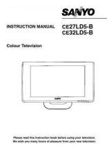 Buy Sanyo CE27LD5-B Manual by download #173087
