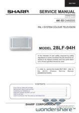 Buy Sharp 28LF94H SM GB Manual.pdf_page_1 by download #178128