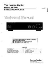 Buy Harman Kardon AP2500 SM Manual by download Mauritron #185577