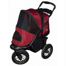 Buy Pet Gear Jogger Pet Stroller Burgundy