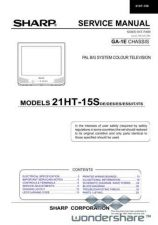 Buy Sharp 21HT15S SM GB(1) Manual.pdf_page_1 by download #177903