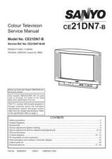 Buy Sanyo CE21DN7-B-00 S Manual by download #171505