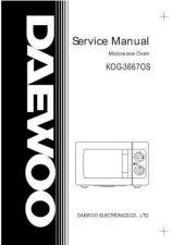 Buy DAEWOO SM KOG-3667M (E) Service Data by download #146858