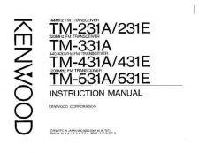 Buy KENWOOD TM-331A Manual Service Data by download #132819