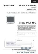 Buy Sharp 14LT45C SM GB Manual.pdf_page_1 by download #177756