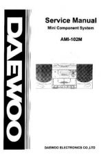 Buy Daewoo AMI-102M (E) Service Manual by download #154629