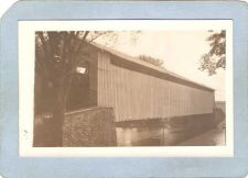 Buy GEN Unknown Covered Bridge Postcard Covered Bridge Real Photo Post Card RP~1048