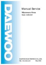 Buy DAEWOO SM KOR-636T (E) Service Data by download #146899