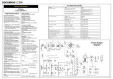 Buy Goodmans C210 Schematics plus by download #147159