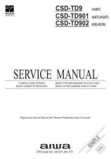 Buy AIWA CS-W530 CS-W531 TECHNICAL INFO by download #125249
