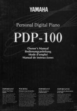 Buy Yamaha PDP100E Operating Guide by download Mauritron #204029