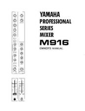 Buy Yamaha M916E Operating Guide by download Mauritron #204788