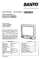 Buy Sanyo CB5953 SM-Onl Manual by download #171311