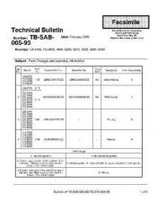 Buy Sharp TBSB0593 Technical Bulletin by download #139166