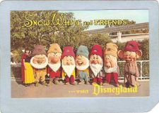 Buy CA Snow White & Friends Visit Disneyland Amusement Park Postcard top_box3~234