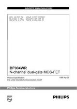 Buy SEMICONDUCTOR DATA BF904WR 1J Manual by download Mauritron #187250