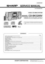 Buy Sharp 500 CD-BK3200V P1-40 Manual by download #178560