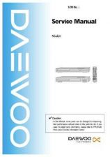 Buy Daewoo DWQ73DN001 Service Manual by download #160613