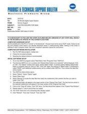 Buy Minolta ISW PROCEDURES FOR DI650 Service Schematics by download #137280