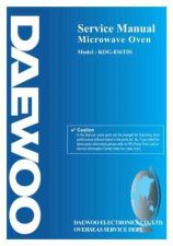 Buy Daewoo G836T0S001(r) Service Manual by download #160726