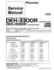 Buy PIONEER C2594 Service Data by download #148981