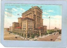 Buy CAN Vancouver Postcard C P R Hotel Vancouver Street Scene Intersection w/T~177