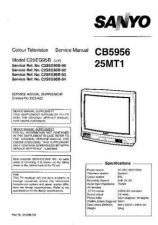 Buy Sanyo 25MT1 2 Manual by download #172639