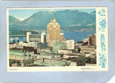 Buy CAN Vancouver Postcard Vancouver Skyline w/Right Border Design can_box1~146