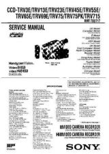 Buy SONY CCD-TRV98 Service Manual by download #166592