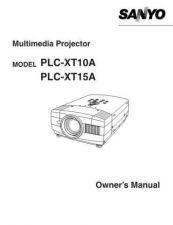 Buy Sanyo PLC-XP40 Manual by download #174915