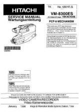 Buy Hitachi VM-8300 NO 6801EG Manual by download Mauritron #184642