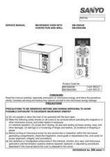 Buy Sanyo Service Manual For EM-C2001UK Manual by download #175751