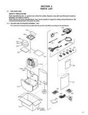 Buy JVC GR-DX25EZ PART TECHNICAL DATA by download #130889