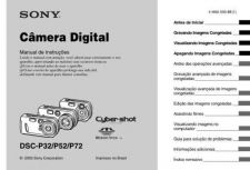 Buy SONY DSC-P52 OPERATING GUIDE by download #166752