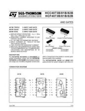 Buy SEMICONDUCTOR DATA 4073, 4081, 4082J Manual by download Mauritron #186906