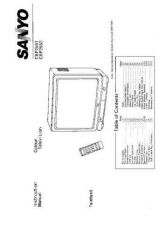 Buy Sanyo CBP255 Manual by download #171344