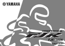 Buy Yamaha FJR1300 OWNERS MANUAL by download Mauritron