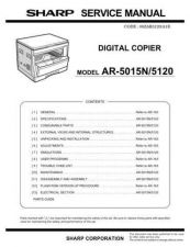 Buy Sharp AR5012 SM GB(1) Manual by download #170079