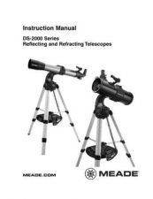 Buy Meade DS2000 french Instruction Manual by download Mauritron #194731