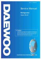 Buy Daewoo Model FR-142 Manual by download #168582