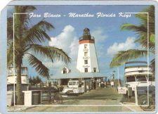 Buy FL Marathon Lighthouse Postcard Faro Blanco Lighthouse lighthouse_box1~122