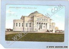 Buy CT Branford Blackstone Memorial Library w/Horse & Wagon ct_box1~94