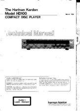 Buy HARMAN KARDON AVR85RDS PRELIMINARY SM Service Manual by download #142124