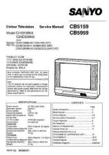 Buy Sanyo CB5959 SM-Only Manual by download #172751