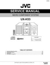 Buy JVC UX-H100 part Service Manual by download #156618