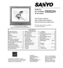 Buy Sanyo DS32920(SN780081-04,03,02,1) Manual by download #174091
