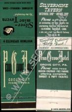 Buy CT Norwalk Matchcover Silvermine Tavern Whitman Operated Also Operates Pen~2231