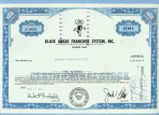 Buy FL na Stock Certificate Company: Black Angus Franchise System, Inc. ~12