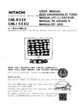 Buy Sanyo CML150XE IT Manual by download #173670